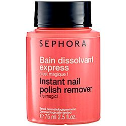 Sephora Collection Instant Nail Polish Remover: it really works!