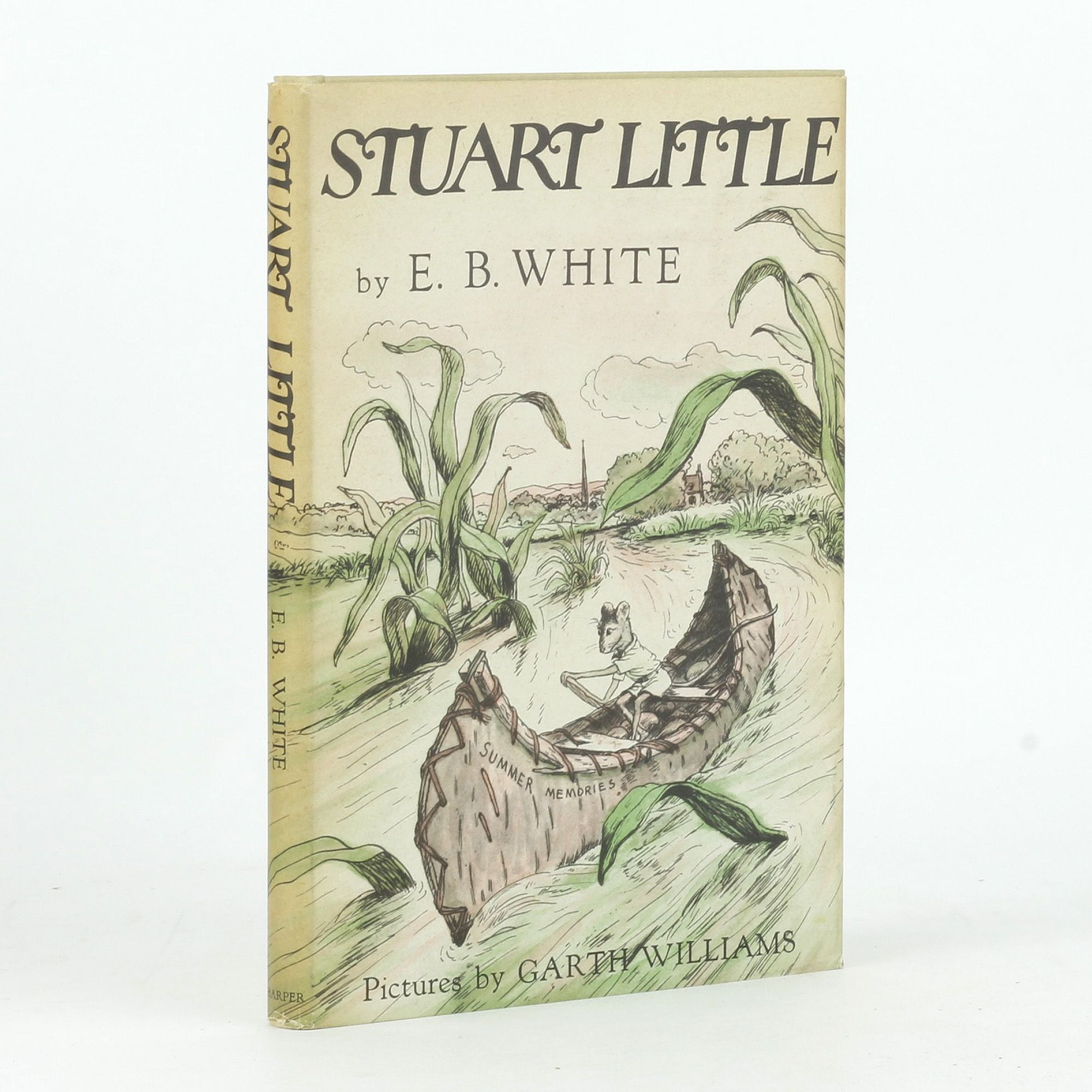 E B White Published Stuart Little In And In It