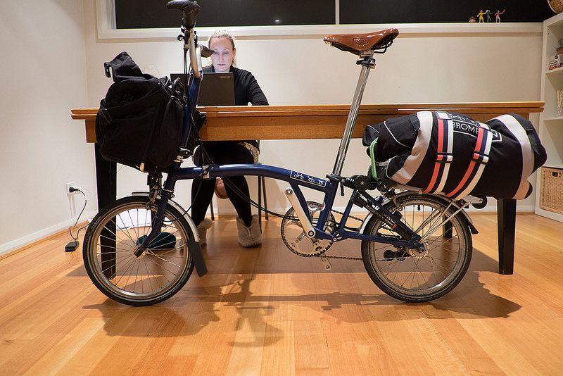 Packing My Brompton B Bag Brompton Pinterest Bicycling And