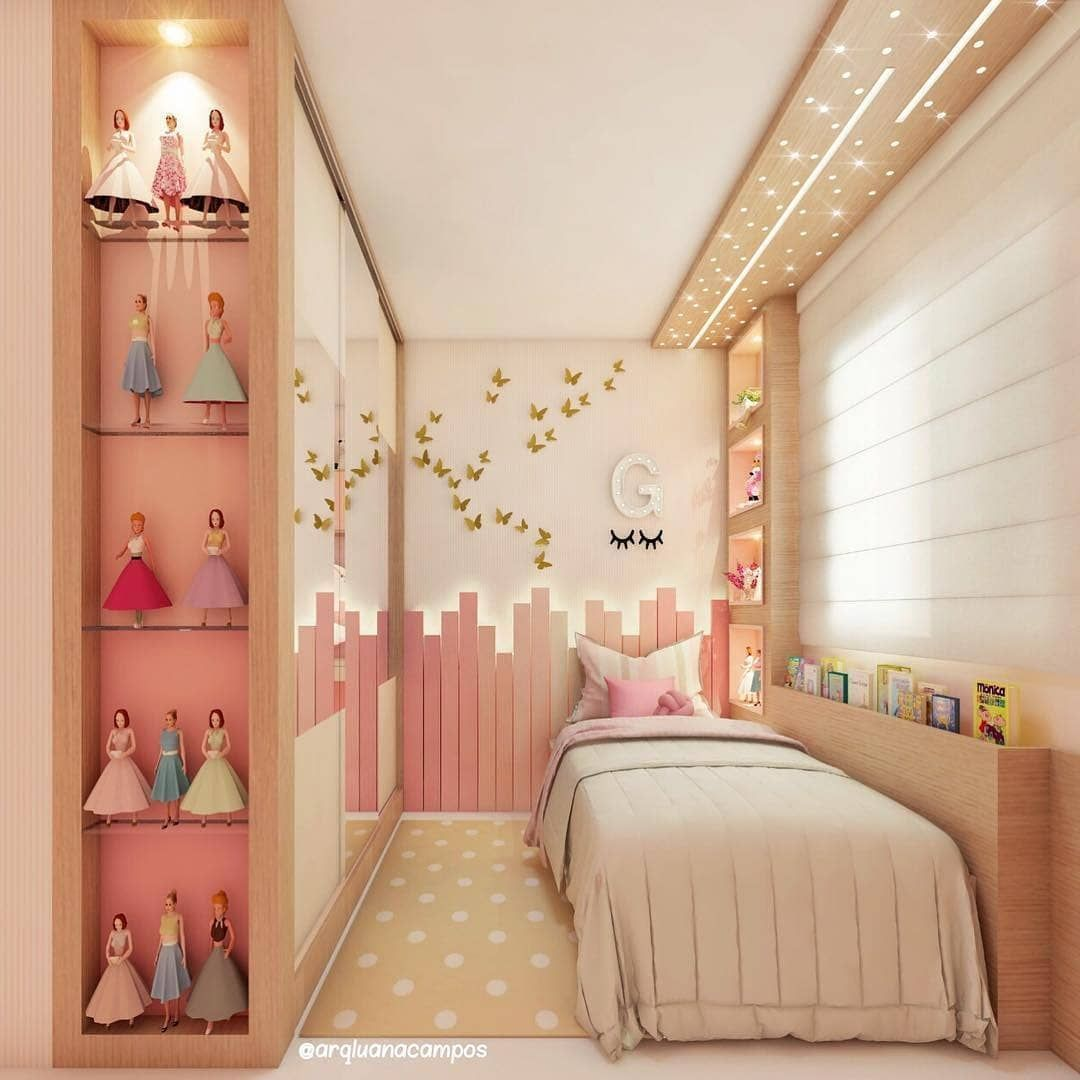 Princess Bedroom Inspirations Achieve An Enchanted Room For Your Little Princess With The Most Girl Bedroom Decor Girl Bedroom Designs Pink Bedroom For Girls