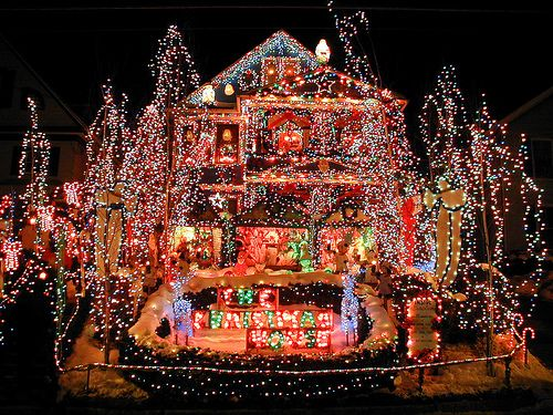funny christmas lights display the best christmas light displays are not in the rich neighborhoods