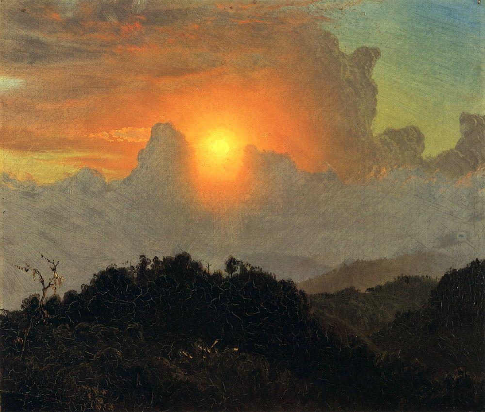 Frederic Edwin Church Romanticism Paintings Hudson River School