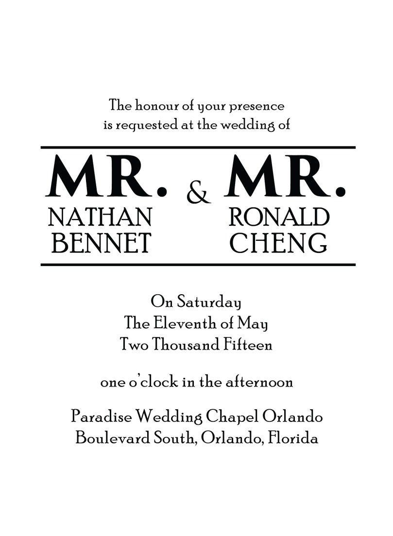 26 creative picture of wedding invitation samples