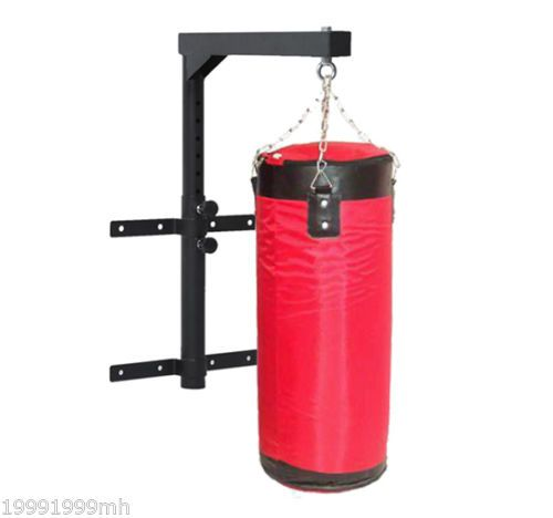 Boxing Punch Bag Hanging Wall Bracket ceiling hook mount Steel Chain Indoor Gym