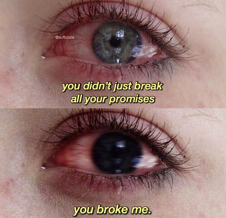 But I'm fixing myself... remembering who I am. So thank you for that