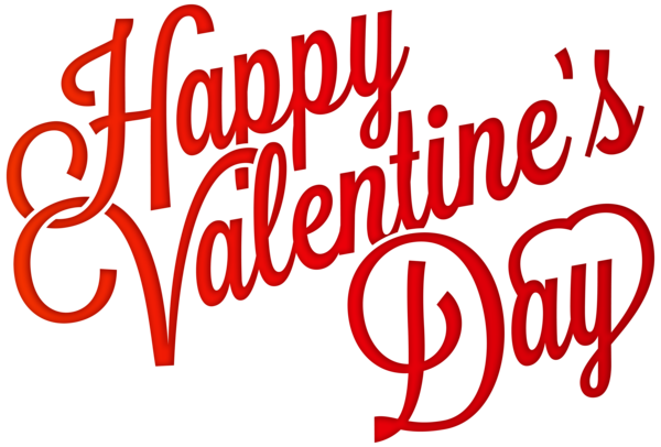 Red Happy Valentine S Day Png Clip Art Image Happy Valentines Day Clipart Happy Valentines Day Pictures Valentines Day Clipart