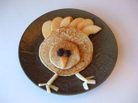 My Creative Stirrings: Turkey Pancakes!