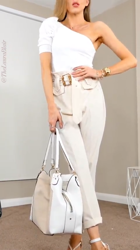 Beige Outfit - Trend Alert!! - FashionActivation O