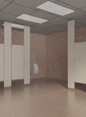 Phenolic Core Washroom Accessories Partition Laminate