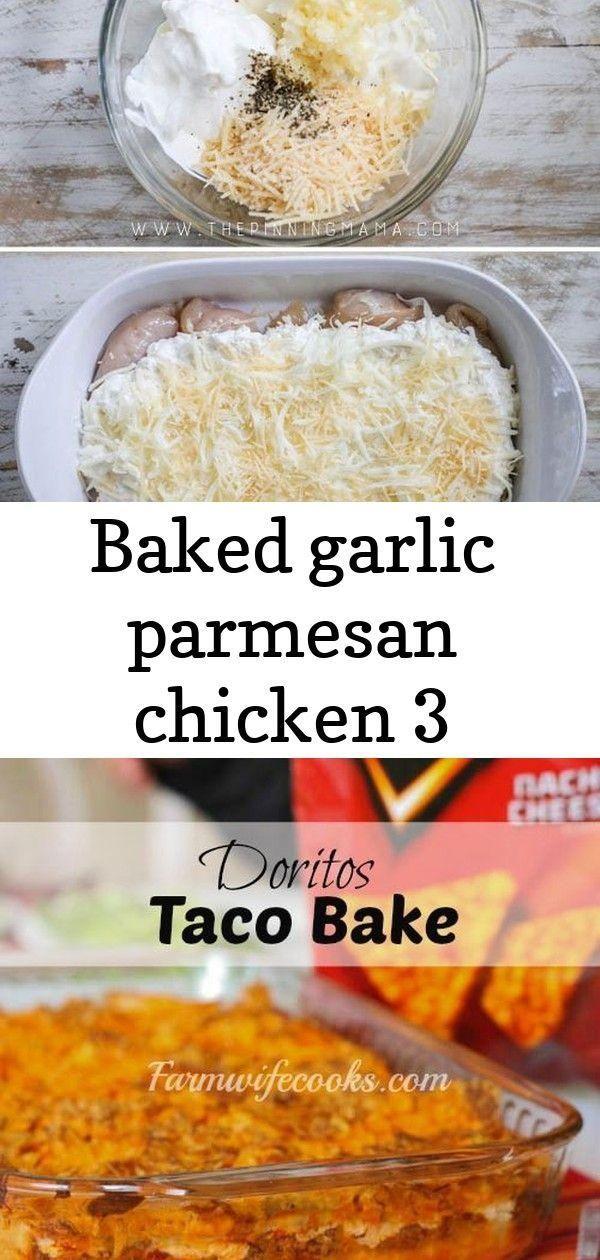 Baked garlic parmesan chicken 3 - Recipes -
