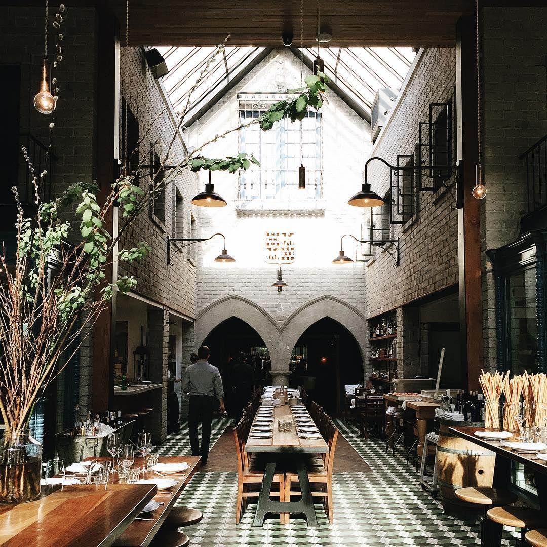 République in Los Angeles #republique #losangeles #lafood #restaurantdesign #interiordesign