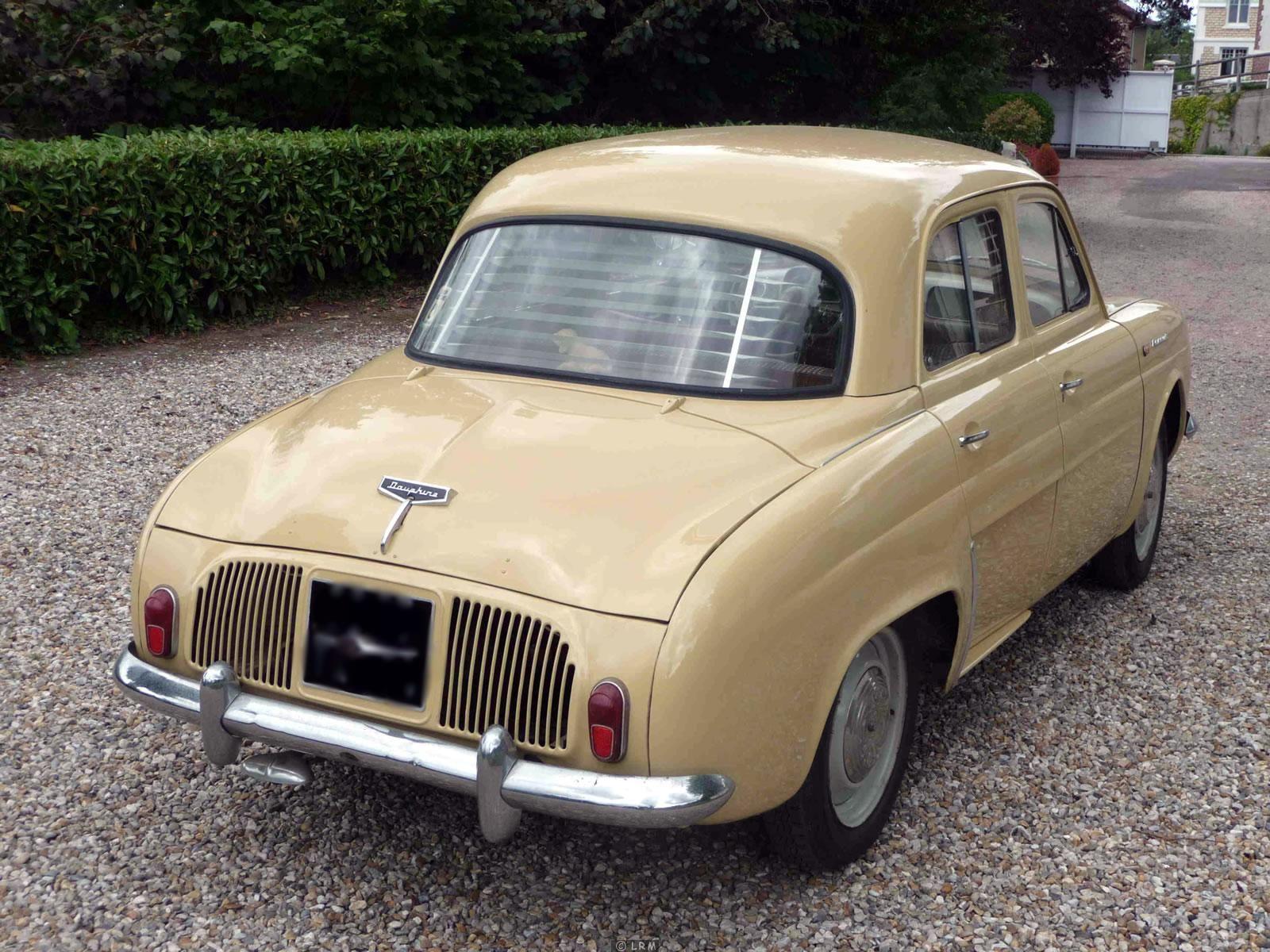 1960 Renault Dauphine Renault Dauphine Willys
