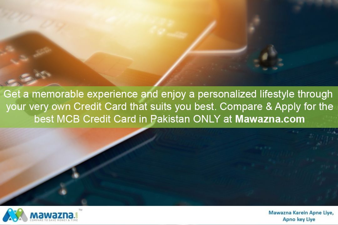 Compare mcb credit cards and find best card that matches