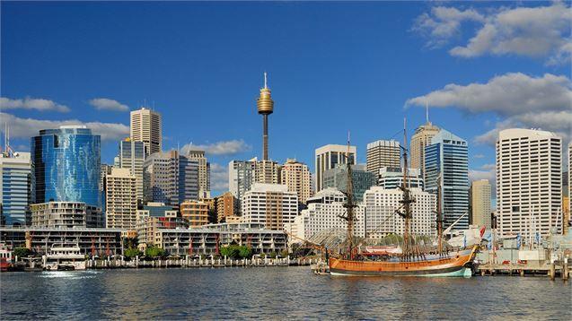 View of Darling Harbor, Sydney, Australia | Sydney hotel ...