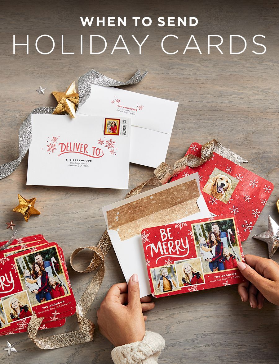 When To Send Holiday Cards Holidays