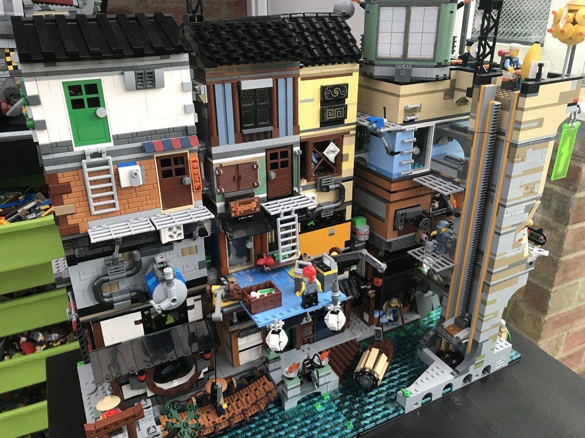 Ninjago City Xxl Lego Lego Ninjago City Lego Architecture