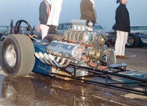 Vintage Slingshot Dragster With Rare Ford 427 Cid Sohc Engine Drag Cars Drag Racing Cars Drag Racing