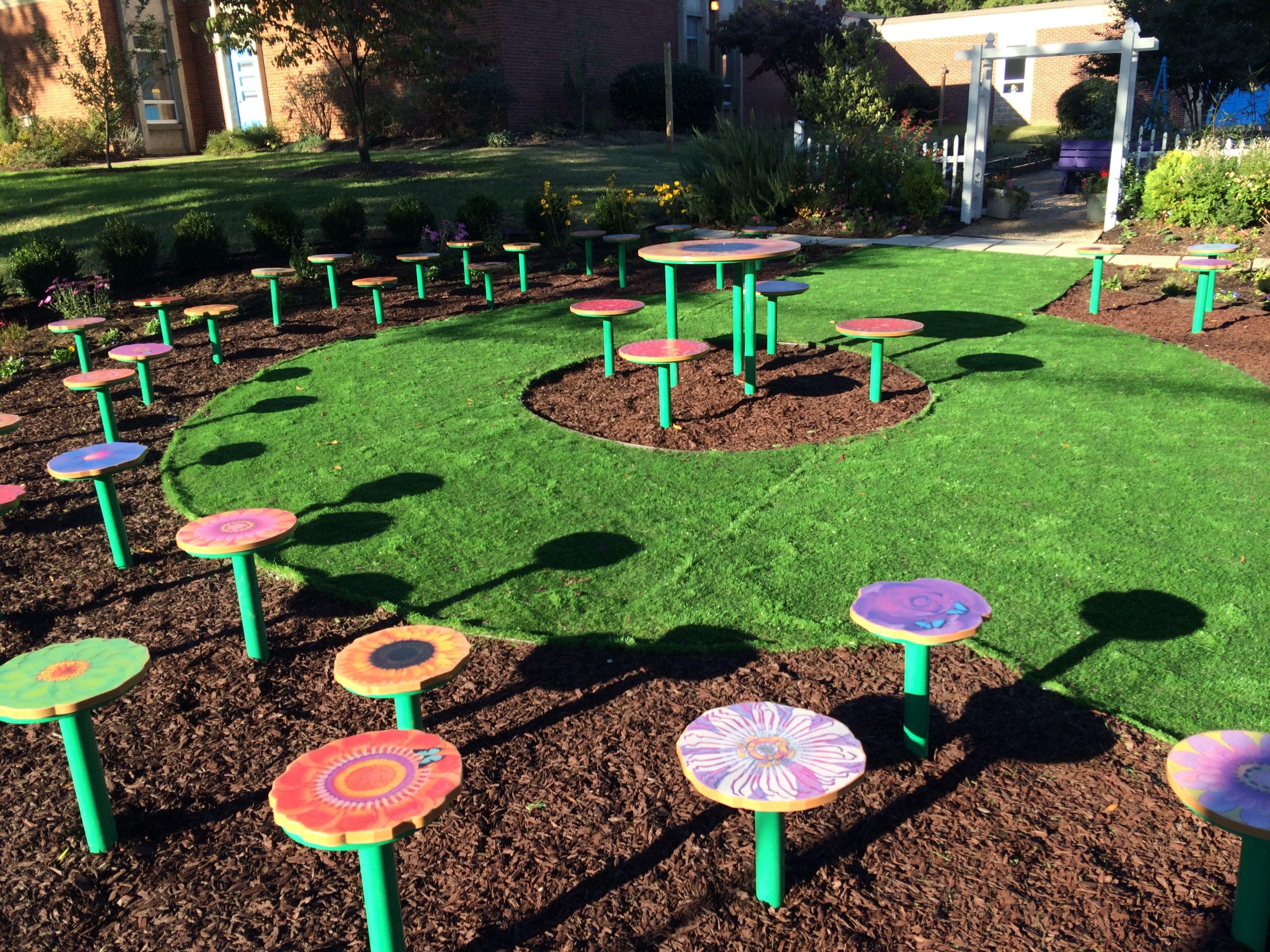 Chimborazo Elementary School Project Flower Garden Design Floral Design School Simple Garden Designs
