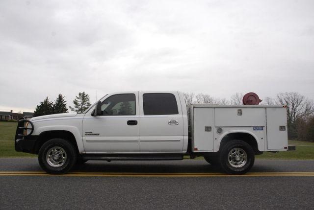 2007 Chevrolet 2500 Hd Crew Cab Duramax Diesel Utility Truck Utility Truck Duramax Diesel Chevrolet 2500
