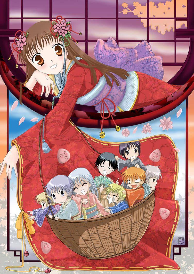 Fruits Basket by kuromai Fruits basket anime, Fruits