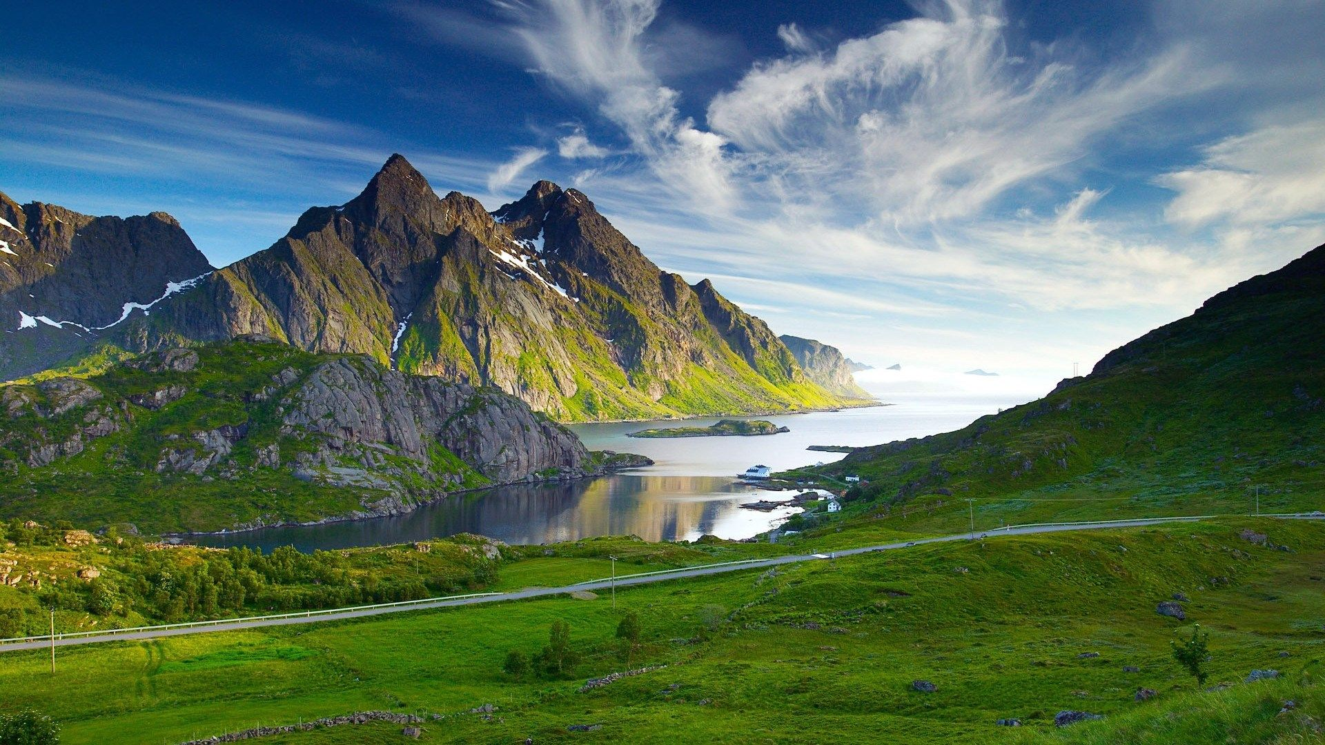 Mountain Backgrounds High Quality Resolution Hd Landscape Landscape Wallpaper Mountain Landscape