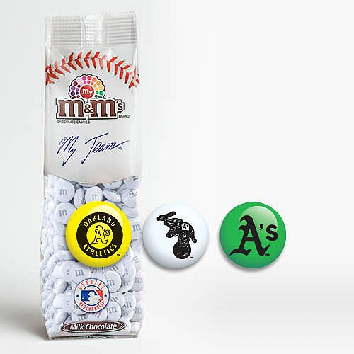 Oakland A's M and M's -- perfect for party favors!