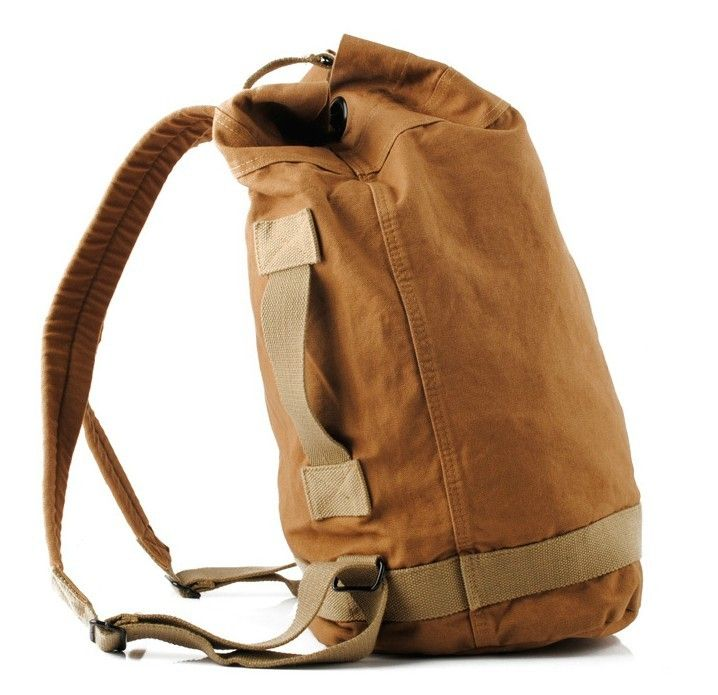 Vintage Canvas Backpacks For Men, Canvas Backpack For Women ...