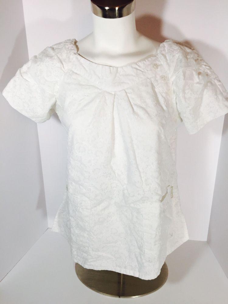 Women's Sleeveless Embroidered Scrub Dress with Jacket