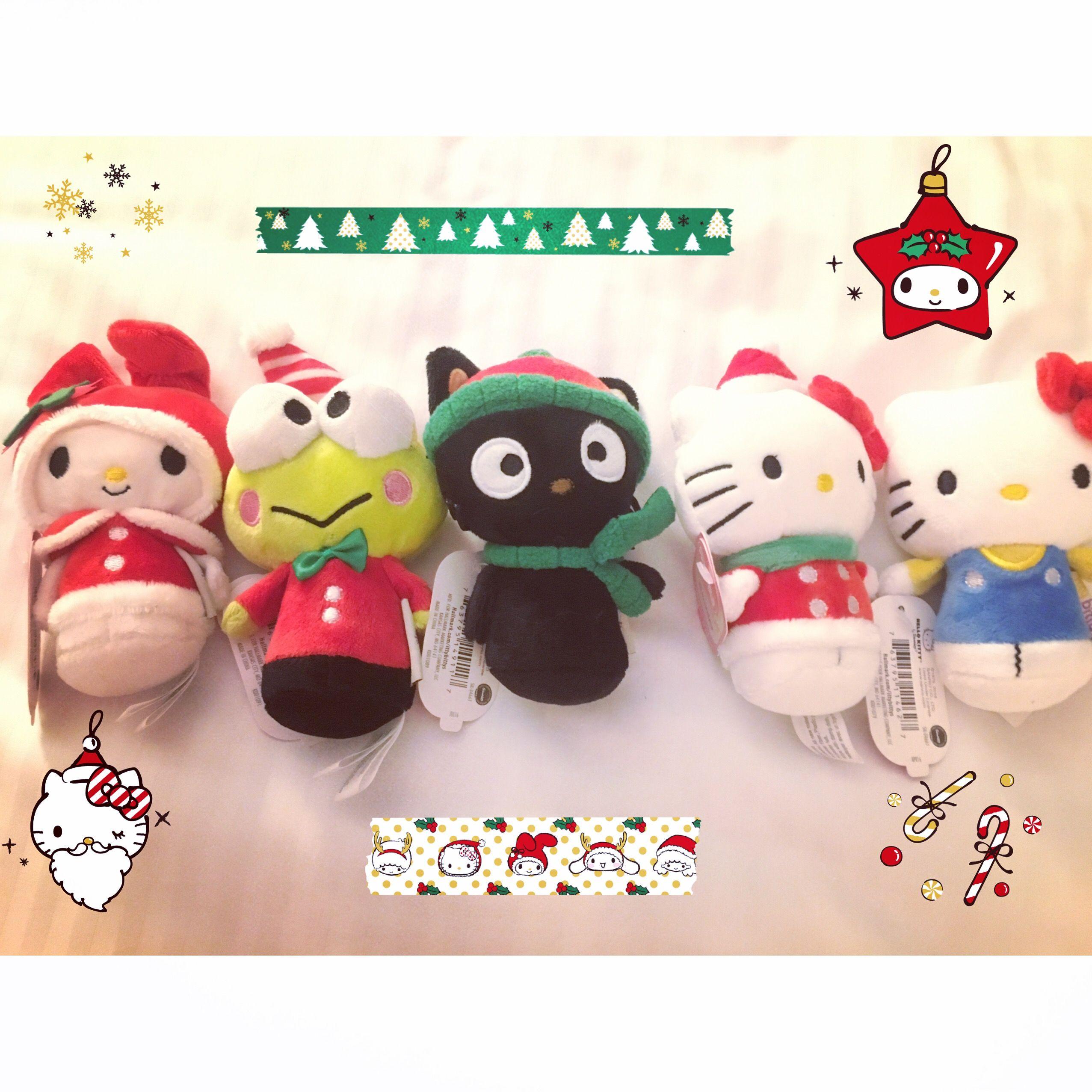 Hallmark Itty Bittys Sanrio Christmas Christmas Ornaments Christmas Itty Bitty