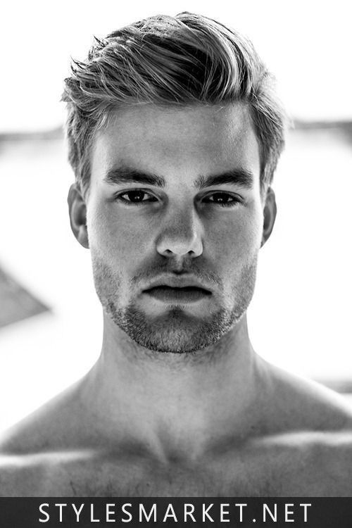 Mens Hairstyles For Thick Hair New Gracefulregularmediumhaircut  Men Hairstyles  Pinterest
