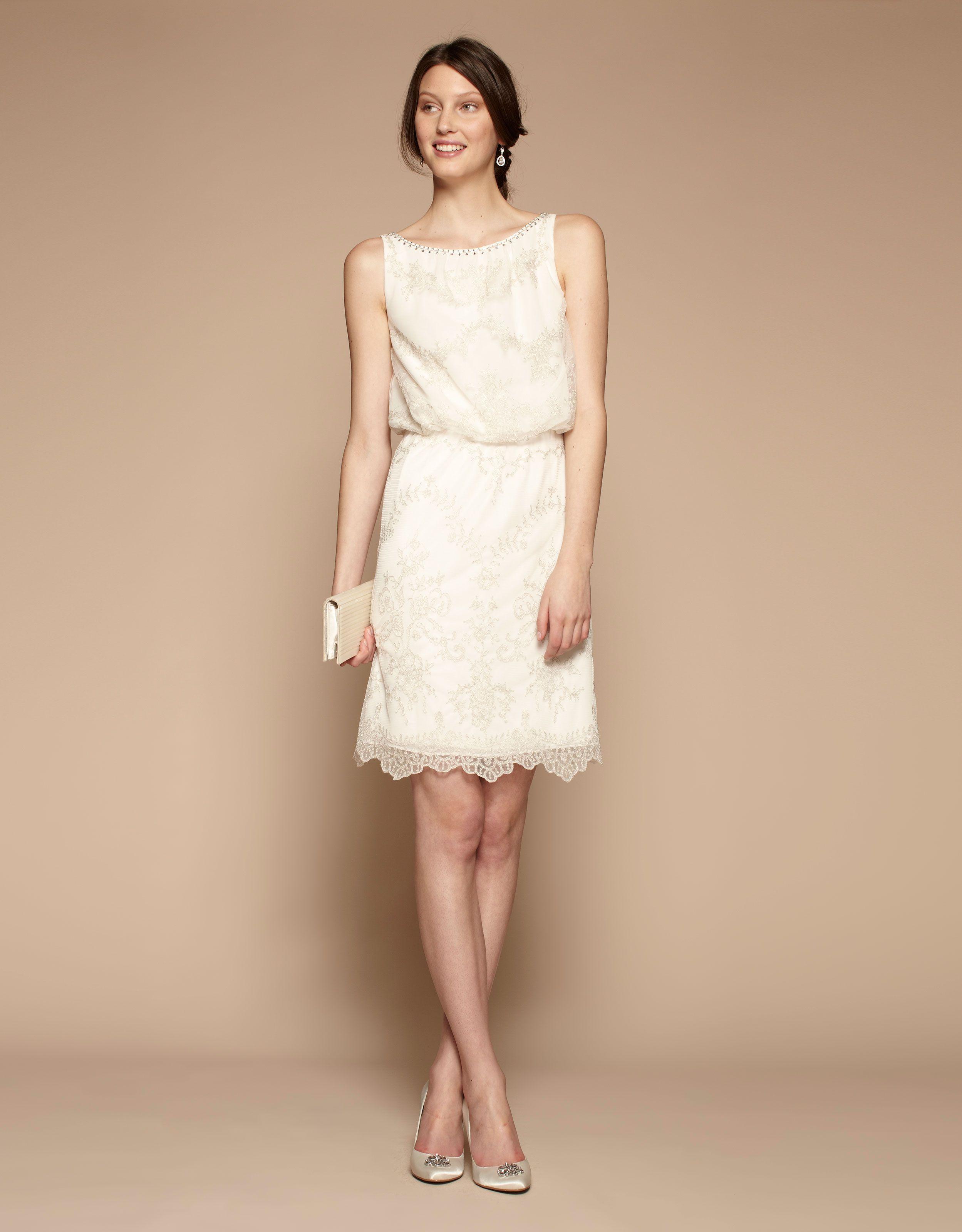 Etienne Dress Short Wedding Dress Simple Bridal Gowns Casual Wedding Dress [ 3200 x 2498 Pixel ]