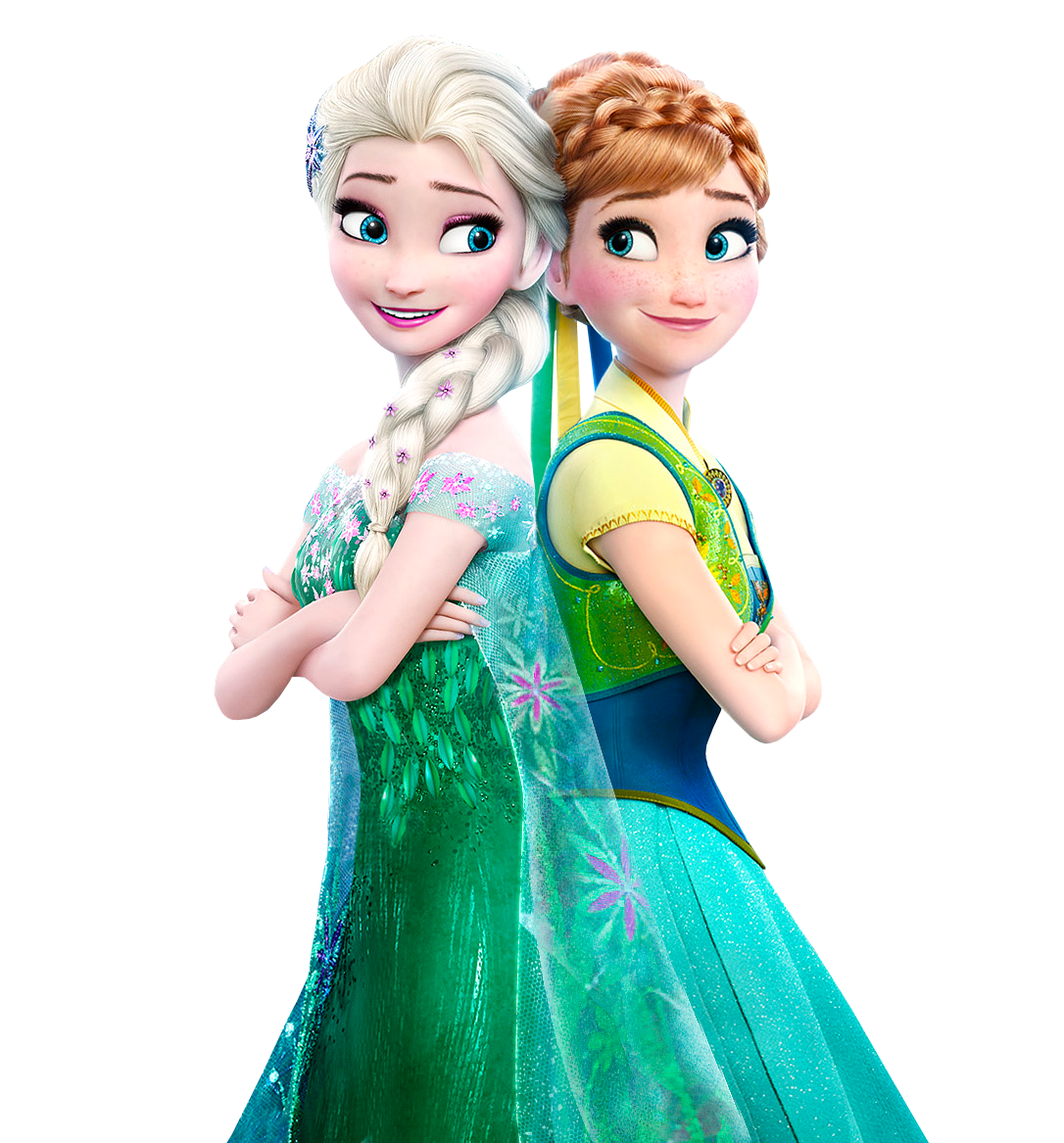elsa and anna frozen fever transparent background by on deviantart. Black Bedroom Furniture Sets. Home Design Ideas