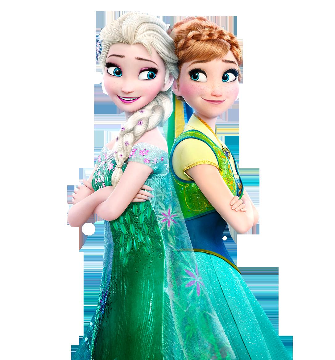 Elsa And Anna Frozen Fever Transparent Background Frozen Movie Frozen Fever Elsa Frozen