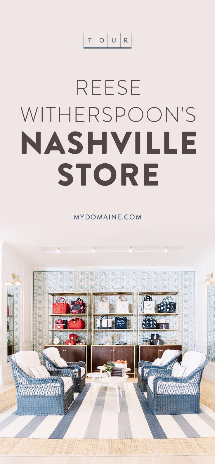 Exterior: Tour Reese Witherspoon's Gorgeous New Nashville Store