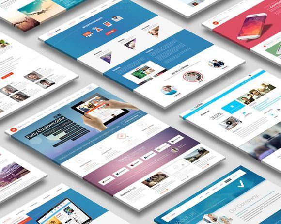Perspective Website Mock Up Website Design Mockup Free Psd Free Psd Mockups Templates