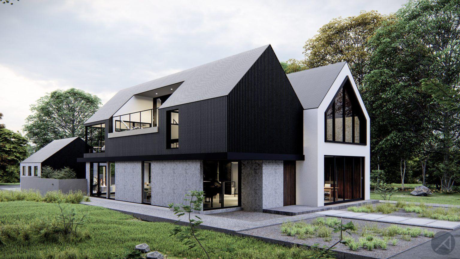 Contemporary Scandinavian House Plan In 2020 Scandinavian Home Scandinavian Modern House House Plans