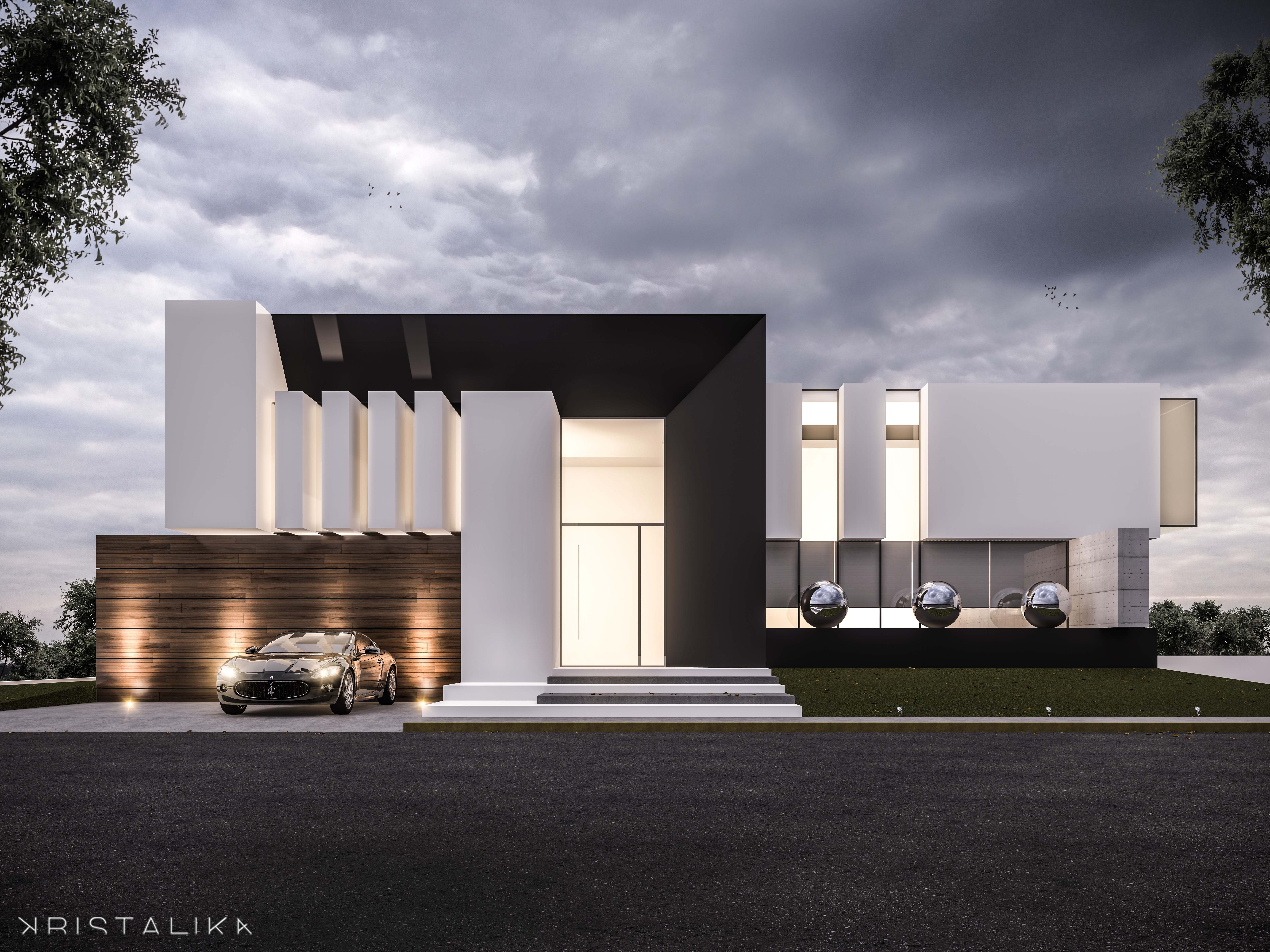Pleasing Da House Architecture Modern Facade Contemporary House Largest Home Design Picture Inspirations Pitcheantrous