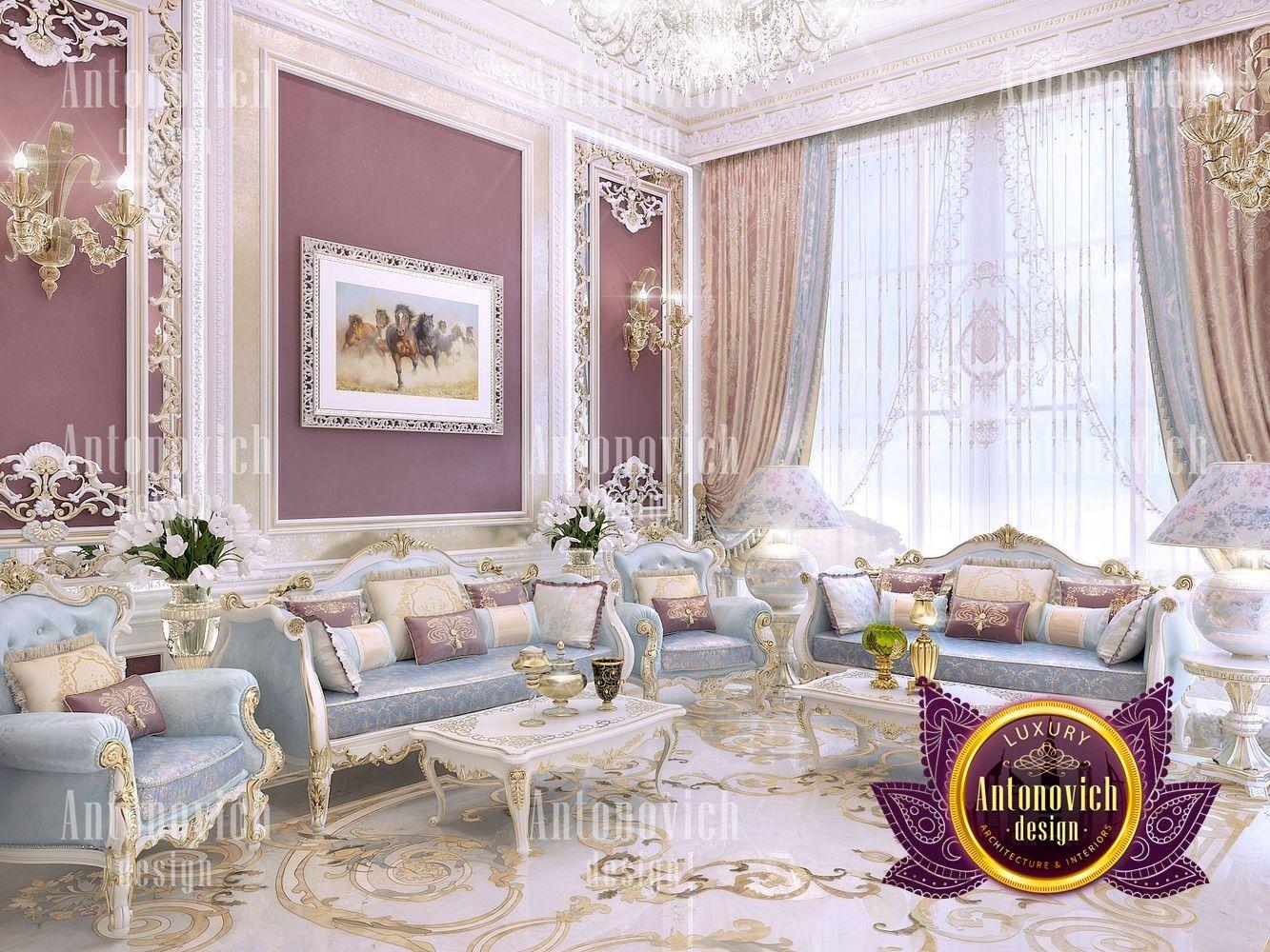 Interior Design Luxury Villa in Saudi Arabia. Offering a highly ...