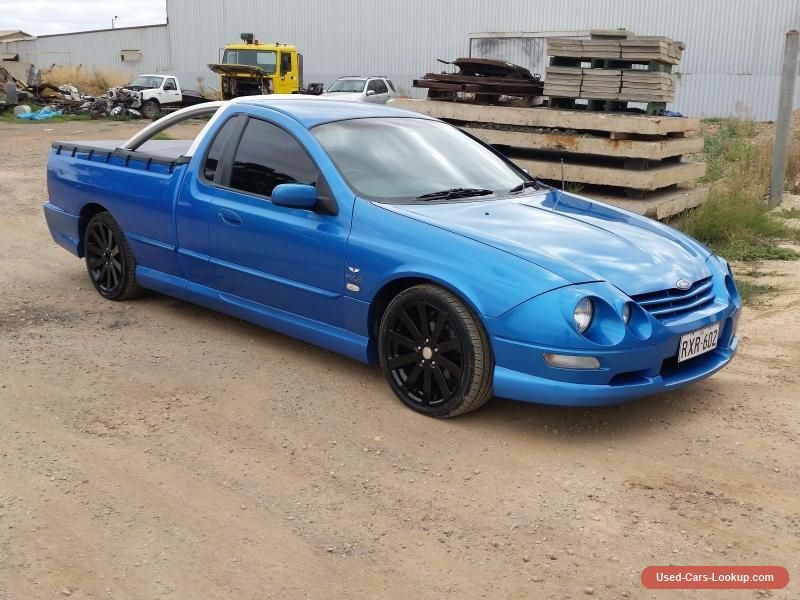 Ford Au111 2002 Xr6 Tickford Ute Ford Ute Forsale Australia