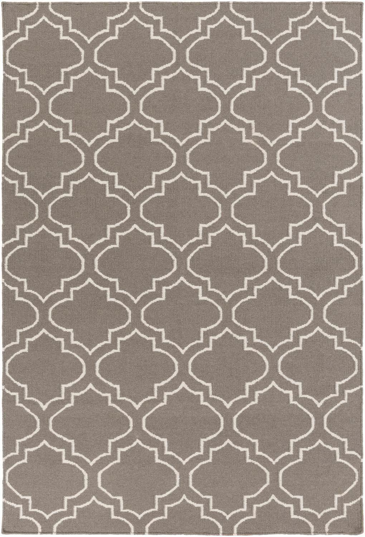 York AWHD-1054 Gray/Ivory Contemporary Rug