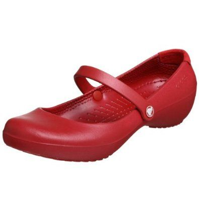 b1fb1f4b Amazon.com: Crocs Women's Alice Mary Jane,Ruby Red,4 M: Shoes ...