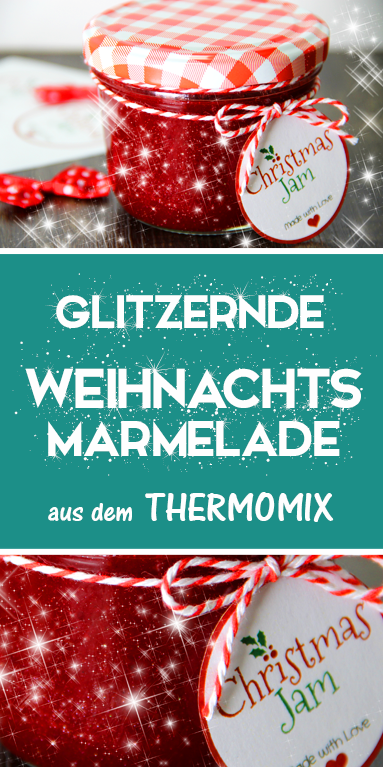 Christmas Glitter Jam von 'Food with Love' #macaronrecette