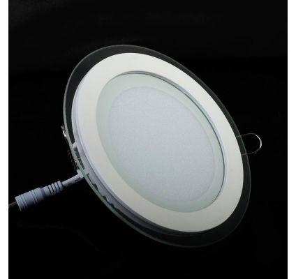 18W / 20CM LED GLASS Panel Light Round LED | LED Panel / LED Glass