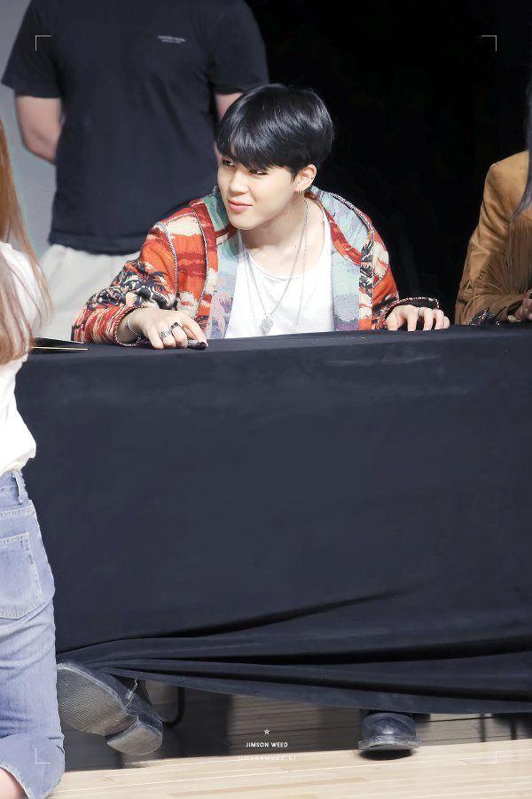 160511 JIMIN @ Sinnara Fansign | © JIMSON WEED. #BTS #방탄소년단 #지민
