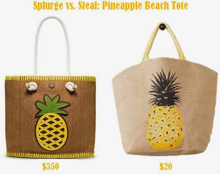 d782b74179c9 Steal – Pineapple Beach Bag style. Why spend  350 on a Tory
