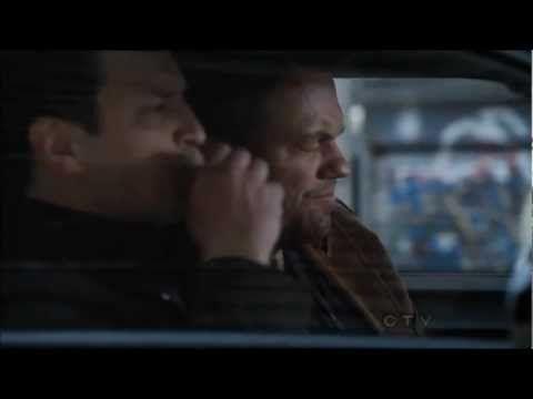 Castle & Slaughter // Nathan Fillion & Adam Baldwin // 4x21 (Headhunters) - YouTube