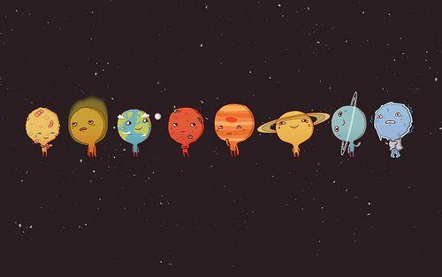 Earth Galaxy Jupiter Mars Mercury Moon Neptune Planets Saturn Uranus Venus Wallpapers