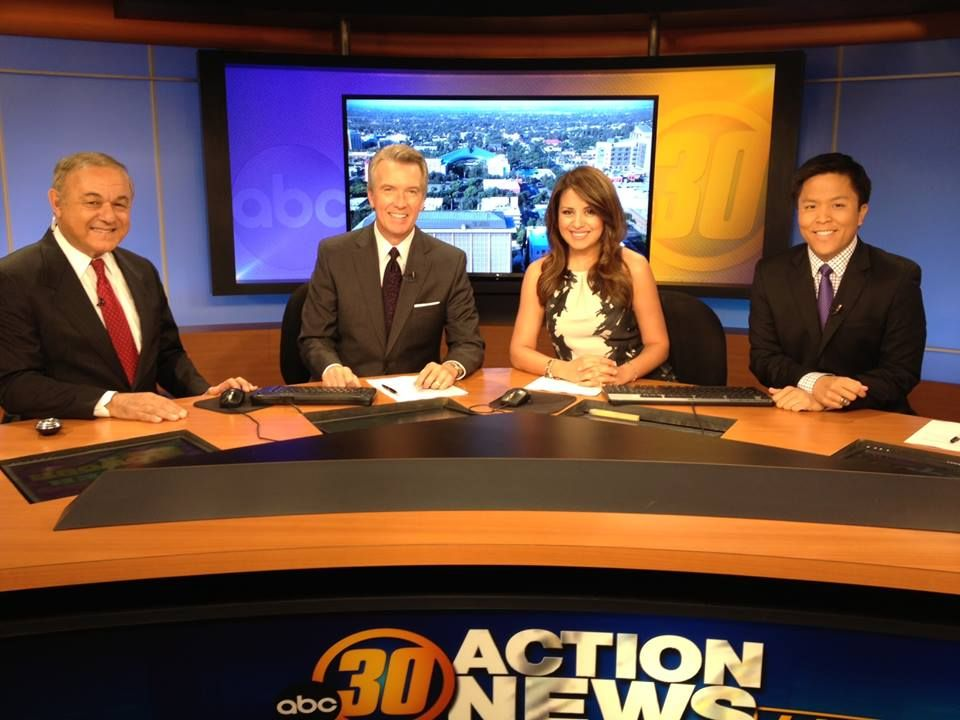 Its The ABC30 Action News Live At 6 Team