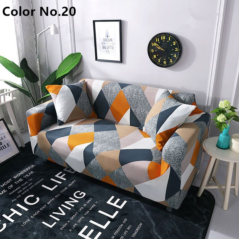 Stretchable Elastic Sofa Cover Color No 20 Sofa Covers Cushions On Sofa Slipcovers For Chairs