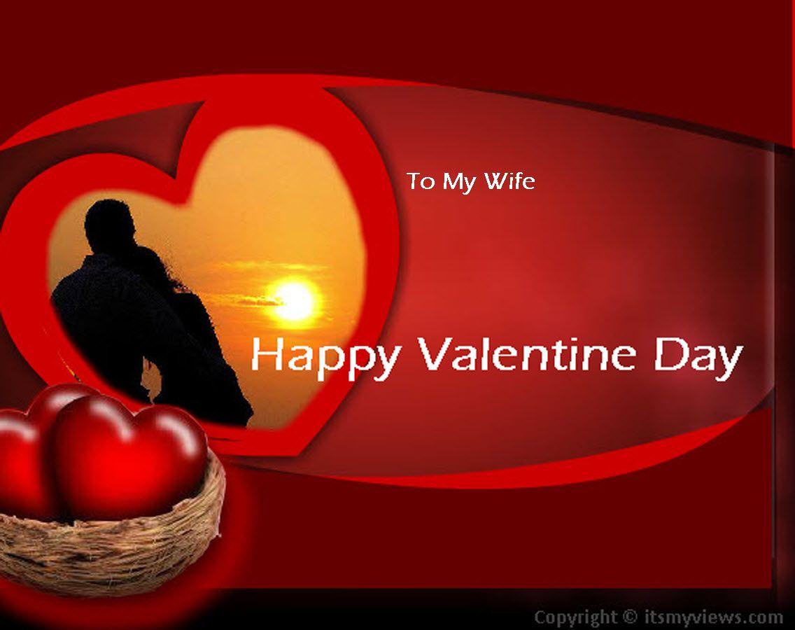 Valentine Day Romantic Picture Fo Wife Valentine Pinterest